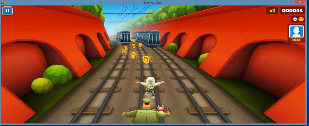 Steps to download and install subway surfers on Windows